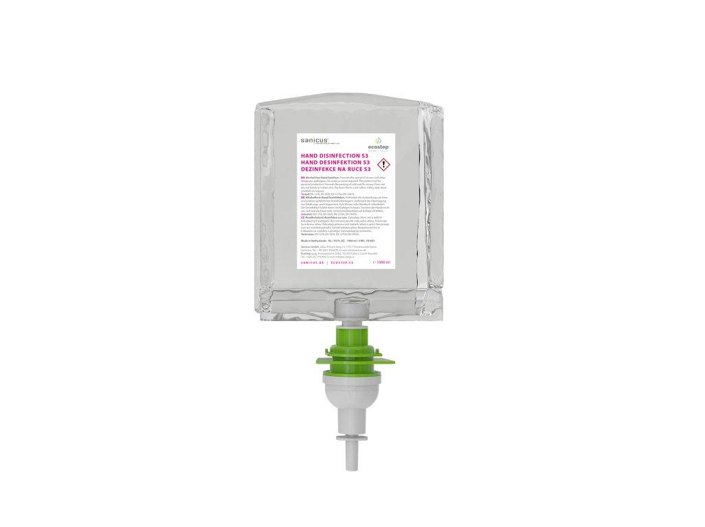 Dezinfekcia na ruky ECOSTEP S3/S2 - 1000 ml - až 3000 dávok