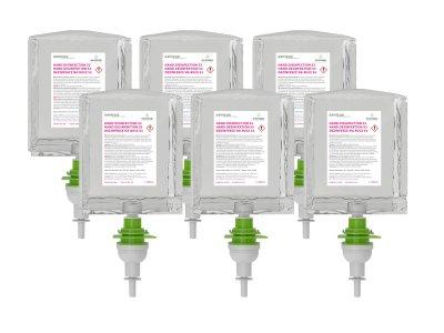 Dezinfekcia na ruky ECOSTEP S3/S2 - 1000 ml - kartón 6 ks